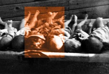 трупы детей - жертв усташского террора