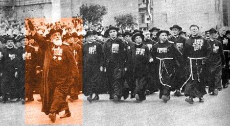 Парад католические капеланов
