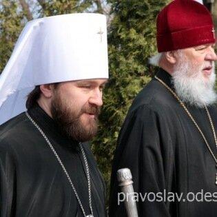 Визит в Украину митрополита Волоколамского Илариона
