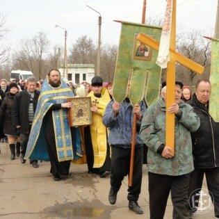 Состоялся Крестный ход с Касперовской иконой Божией Матери по Коминтерновскому району Одесской области