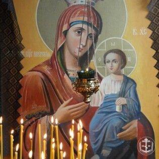 Суббота акафиста. Похвала Пресвятой Богородице.
