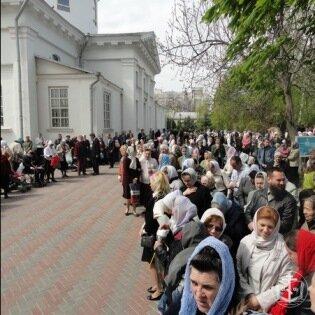 Митрополит Агафангел совершил праздничную Божественную Литургию в Свято-Успенском Одесском мужском монастыре