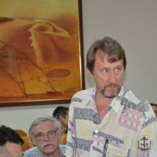 Состоялась встреча с писателем Ю.Воробьевским и режиссером Е.Козенковой в рамках православной выставки
