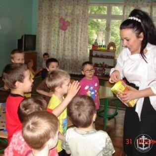 Детский праздник в приюте