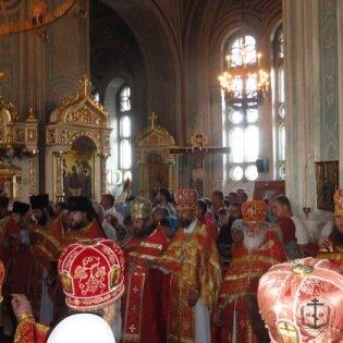 9 августа митрополит Агафангел совершил Божественную литургию в Свято-Пантелеимоновском мужcком монастыре г.Одессы