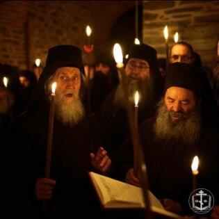 О святой афонской горе
