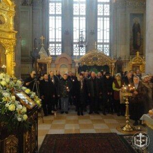 15 февраля в Свято-Ильинском мужском монастыре была отслужена панихида по погибшим воинам в Афганистане