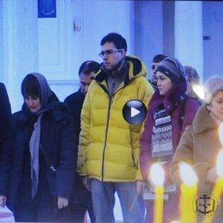 15 февраля в Спасо-Преображенском соборе отслужен молебен о здравии онкобольных детей, родителей, медработников