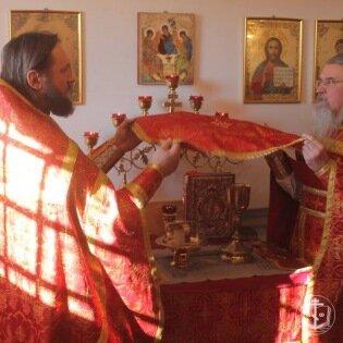 В Одесском СИЗО, в храме священномученика Анатолия Одес ...